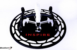 "Heavy Duty Landing Mat Helipad for DJI Inspire 1 and Inspire 1 Pro, Inspire 2, ""Inspire"" Design"