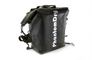 PhantomDry - Super Heavy Duty Dry Backpack Bag for DJI Phantom 4, Black